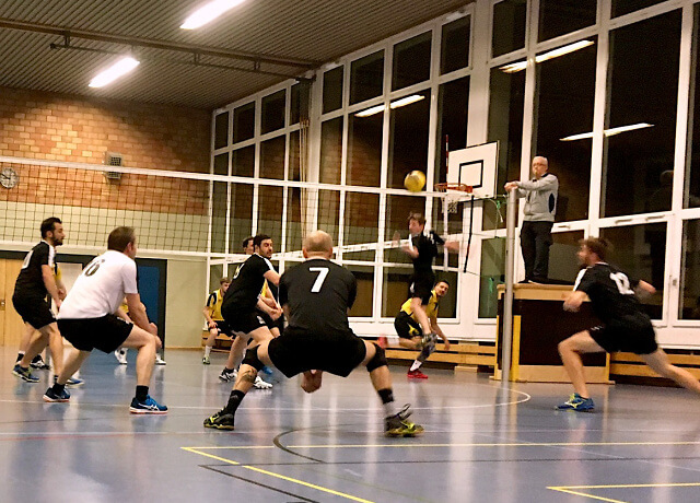 SV Volley Wyna 1 vs. Herren 1
