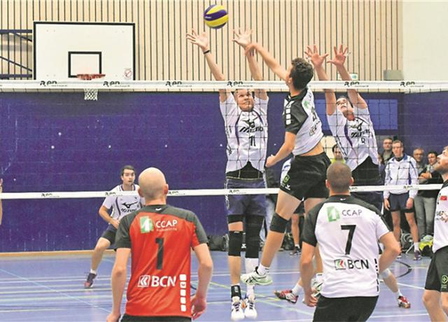 SV Mizuno Olten vs. Colombier Volley