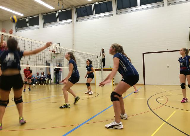 Volley Solothurn U23 vs. Juniorinnen U23